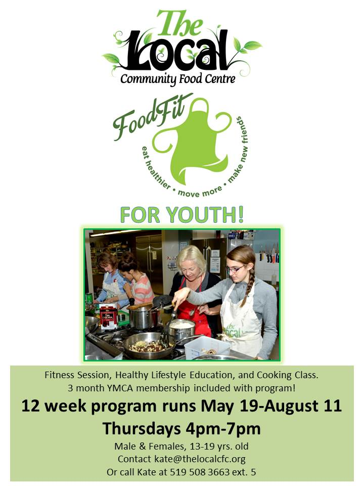 Food Fit Youth Poster