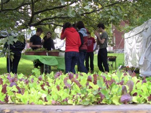 "Central High School Students Offer the ""Living Salad Bar"""