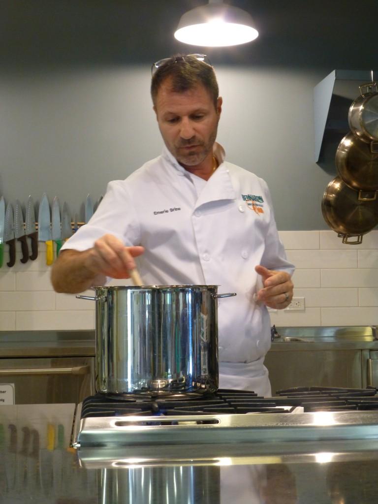 Bernardin Chef Emerie Brine