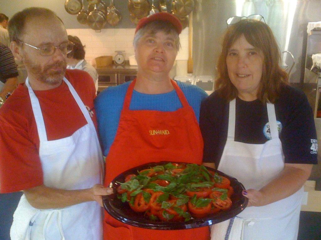 Uwe Sharon and Linda Salad
